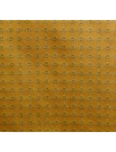 Tissu decorado con cruces enmarcadas en rombos