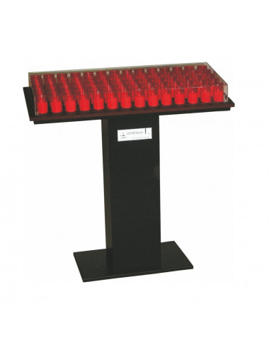 Metal electronic big candles stand