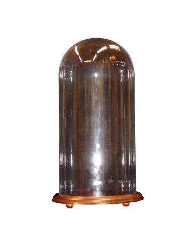 Glass bell for image