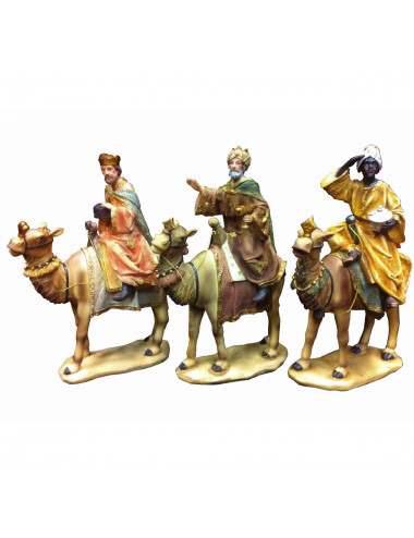Wise Men in camel resin 20 cm