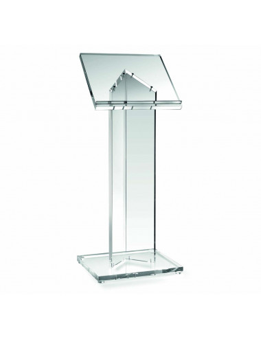 Standing Lectern in transparent lucite