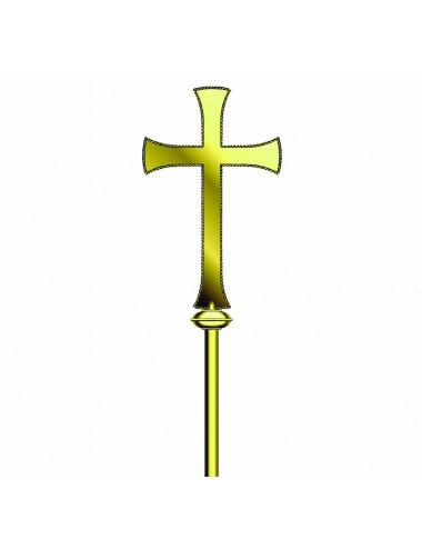 Cruz Procesional clásica sin Corpus