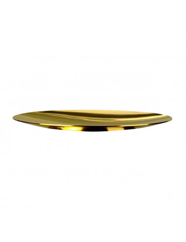 Scale Paten in gold plated brass or stainless steel