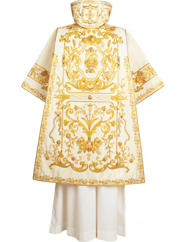 Dalmatic hand embroidered