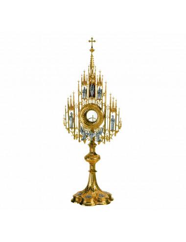 Custodia Gótica Virgen María y Espíritu Santo
