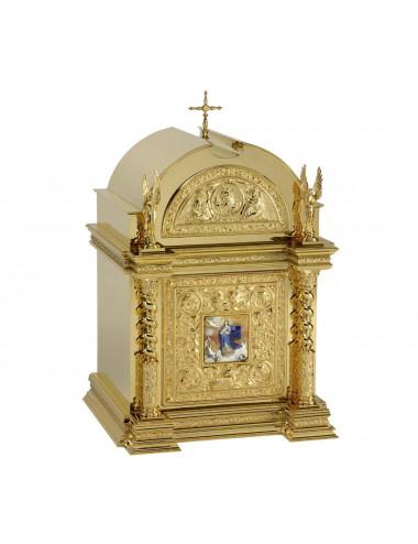 Sagrario con esmalte de la Inmaculada Concepción