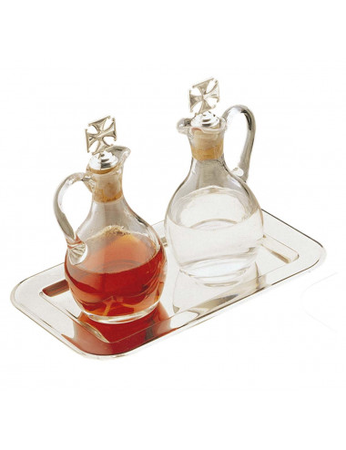 Cruet set with pocillo