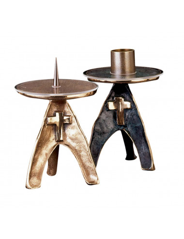 Altar Candlestick made in bronze