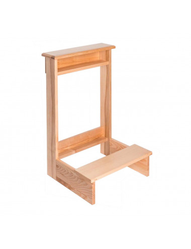 Wooden kneeler