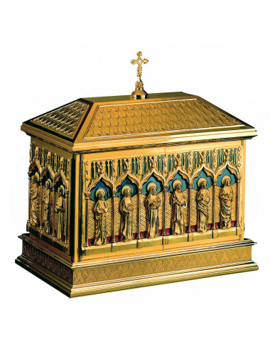 Chest-type Tabernacle Twelve Apostles