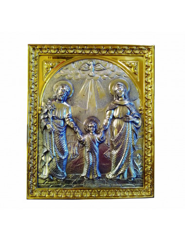 Sacred Family with Holy Spirit Relief