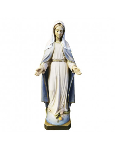 Miracolous Virgin made in wood carving