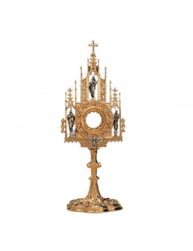 Custodia Gótica Sagrada Familia y Espíritu Santo