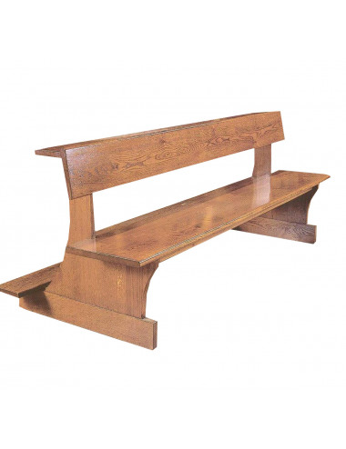 Bench made in wood