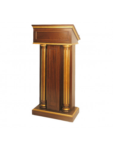 Pulpit made in wood