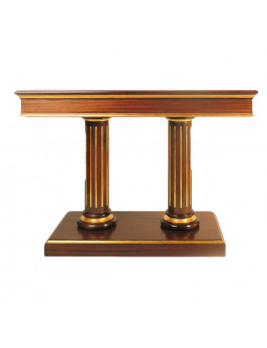 Altar table made in wood