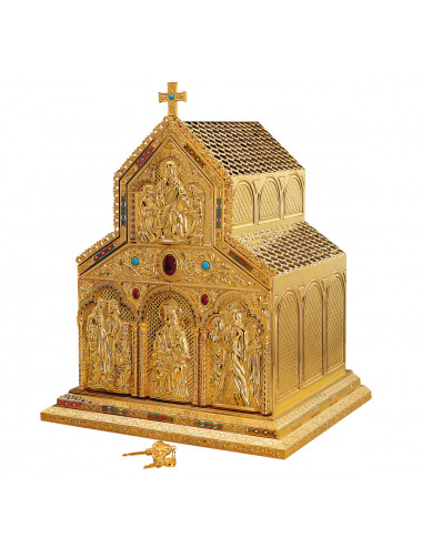 Tabernacle with german-romanesque style