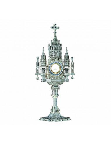 Custodia Gótica plata Apóstoles y Evangelistas