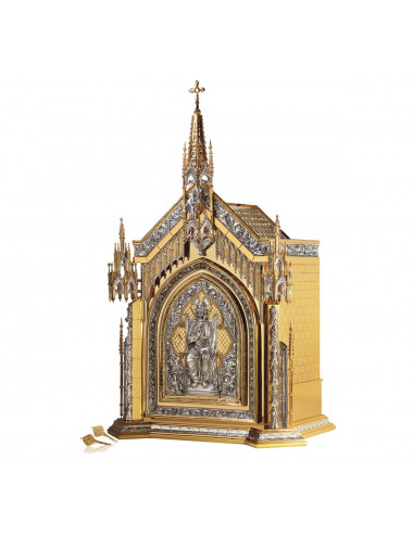 Tabernacle with Pantocrator, Holy Spirit and Sacred Heart