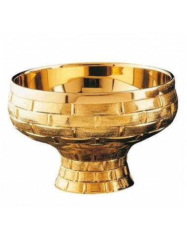 Gold plated Open Ciborium