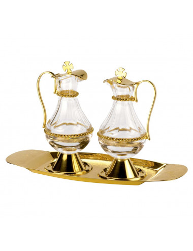Cruet Set with decoration