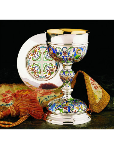 Florentine Chalice and Paten Four Evangelists and symbols