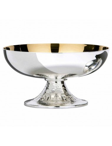 Open Ciborium in silver plated brass
