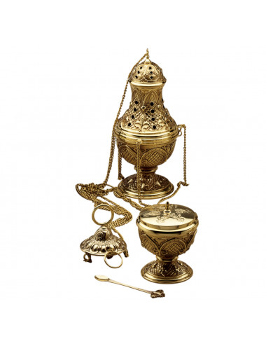 Censer, boat and spoon gothic decoration