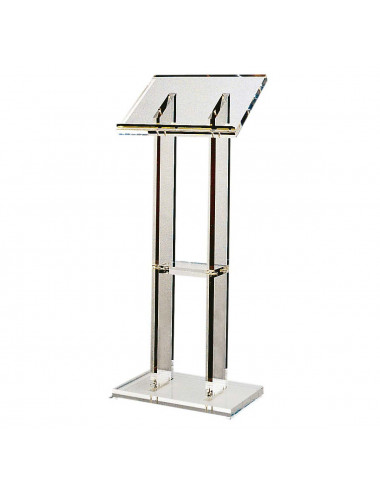 Standing Lectern made in methacrylate