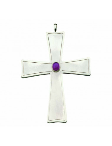 Pectoral Cross with amethyst