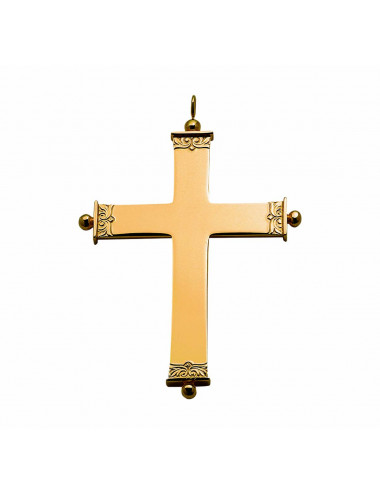 Pectoral Cross sterling silver