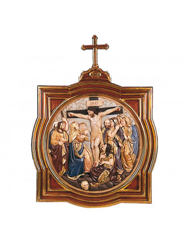 Stations of the Cross made in wood