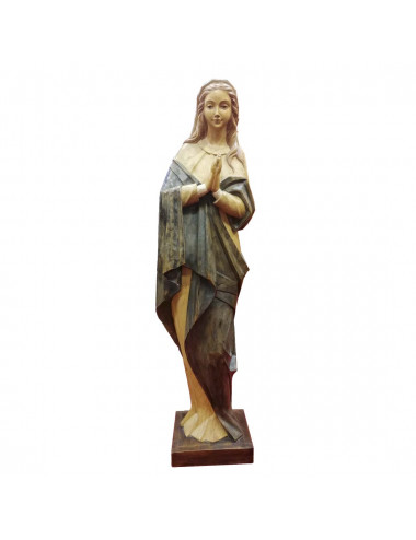 Inmaculada Concepción image made in wood carving