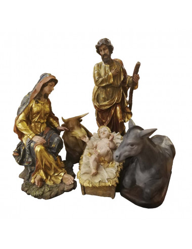 Nativity set made in resin