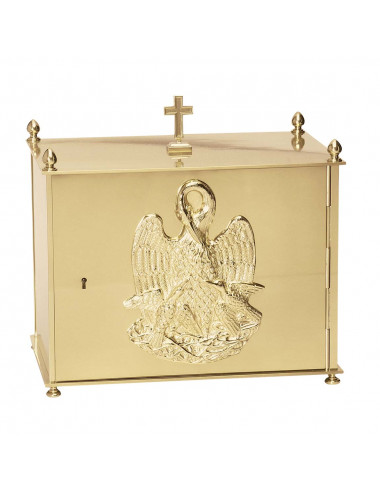 Tabernacle with pelican symbol