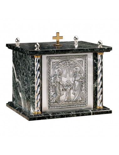 Tabernacle with Holy Family design