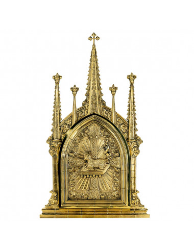 Tabernacle to embed with Agnus Dei design
