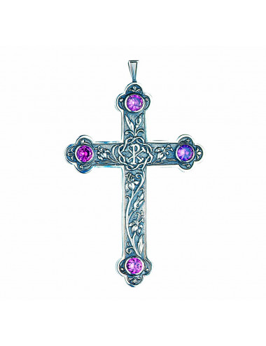 Classic style pectoral cross with PX motifs