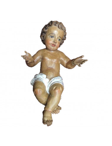 Jesus Child made in cedar wood