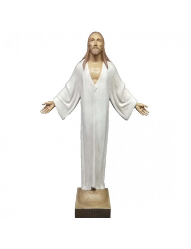 Risen Christ made in wood carving