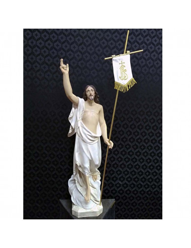 Risen Christ image. Exclusive article of Santarrufina