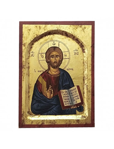 Greek icon hand painted
