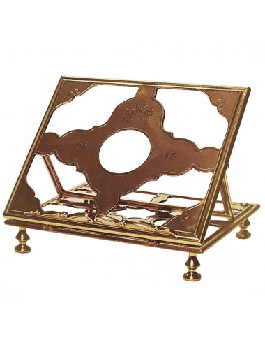 Missal Stand made in natural color brass