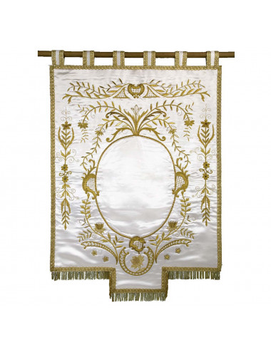 Hand-embroided Banner