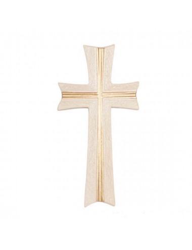 Cruz tallada en madera