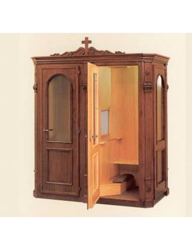 Confessional box mod. Antico