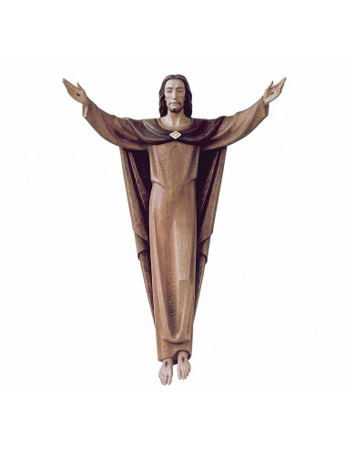 Risen Christ wood carving