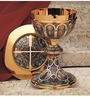 Chalice, Ciboria and Open Ciboria. Sacred Vessels