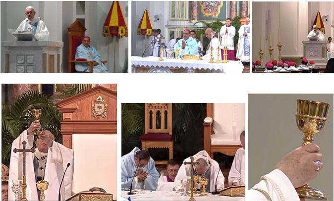 Consagración del Altar Mayor de la Catedral Basílica Santa María La Antigua, Panamá